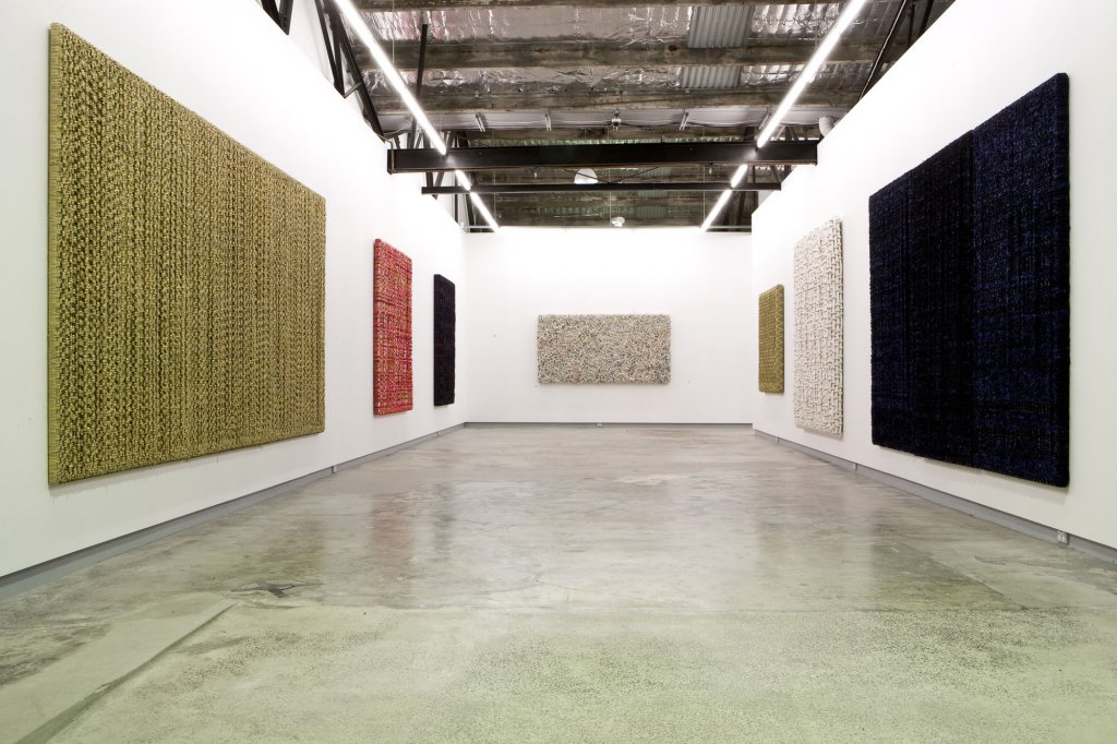 <p>Dani Marti <em>One breath below consciousness</em> 2008 installation view</p>
