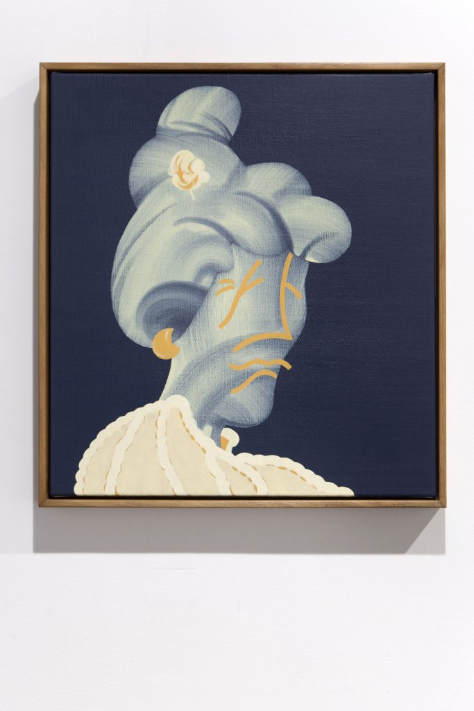 Mitch Cairns <em>Poor Mum</em> 2011  oil on linen 51.5 x 47.5 cm