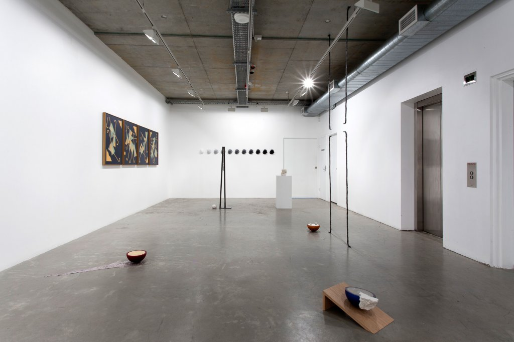 <p>RELATIONSHIPPAL | Mitch Cairns, Susan Jacobs, Tim Silver, 2013, installation view</p>